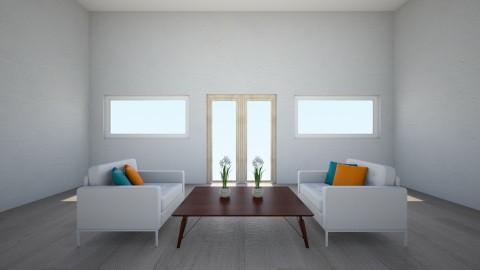 symmetrical room - Living room  - by ilsejanssen