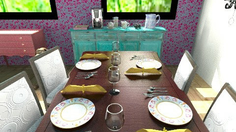 Dining2 - Eclectic - Dining room - by Rodrigues Sasquia