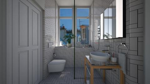 Casa316Bathroom - Retro - Bathroom  - by nickynunes