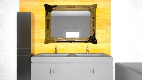 badkamer nieuw - Eclectic - Bathroom  - by rvanhamel