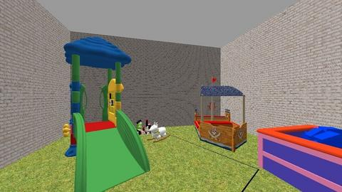 patio 01 - Kids room  - by Babysitters