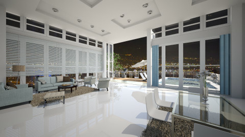 penthouse lights of - Office - by silac26
