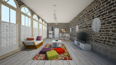 El toque - Retro - Living room  - by Violeta Sordo