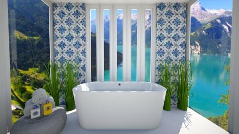 Bath - Modern - Bathroom  - by emmaa323