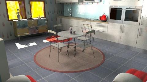 Family home..c - Eclectic - Kitchen  - by mrschicken