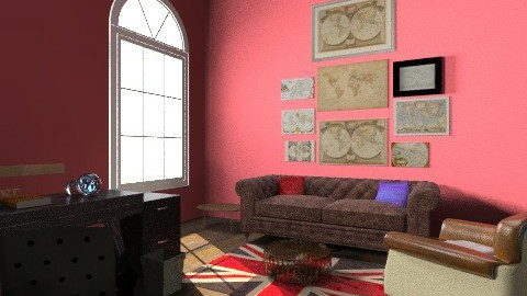 Library - Eclectic - Office  - by musicalfreedom