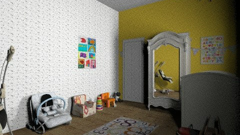 sunshine baby room - Kids room - by iheartteddy
