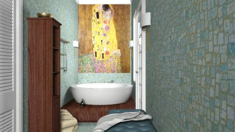 Pied-a-terre jacuzzi room - Modern - Bathroom  - by alleypea