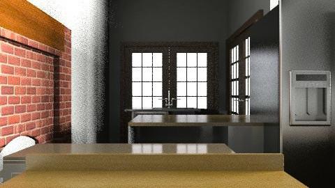 My Dream Kitchen - Rustic - Kitchen  - by LowriF