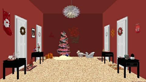christmas corridors - by marlie1231