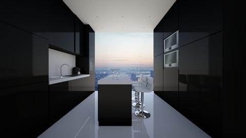 NY Kitchen - Modern - Kitchen - by deleted_1594051217_athinaste89
