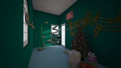 Christmas Room 2 - by Elisabeth Glasco
