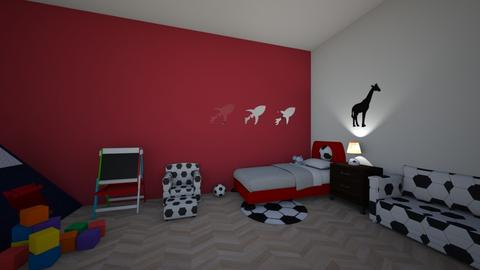 kods - Kids room - by Asia Liberkowska