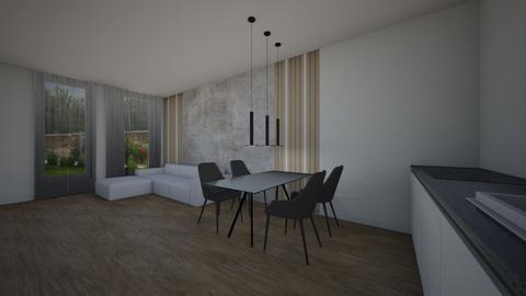 whitey - Modern - Living room - by szaboi