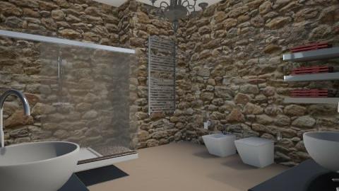 Bathroom - Glamour - Bathroom - by Federica_G1993