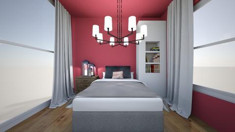 Pink bedroom - Modern - Bedroom  - by Agamanta