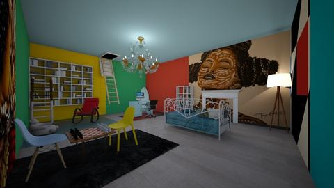 African Bauhaus - Office  - by PrettyluhNia