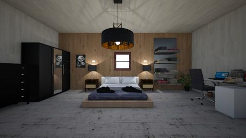 bedroom - Minimal - Bedroom  - by Angelic_Cuteness136