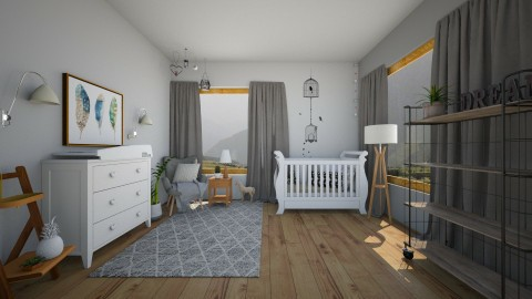 nursery - Kids room  - by stephanie delios