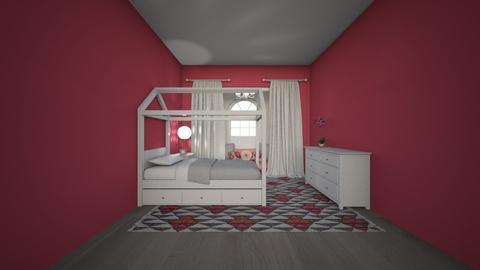 Pink - Kids room - by katiebw