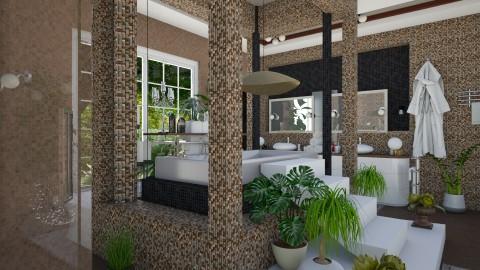 Modern Bathroom 2 - Modern - Bathroom - by ZsuzsannaCs