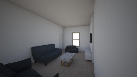 Loddon LR all sofa fish - Living room  - by yannapleby