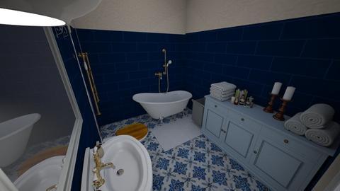 retro - Bathroom - by AnnaM31