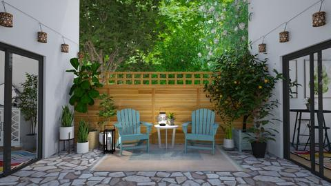 Small Patio - by light_of_grace