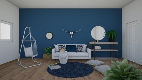 Living Room 1 - by Evelyn MacRae