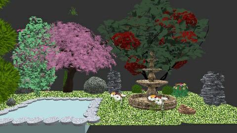 garden - by marlie1231