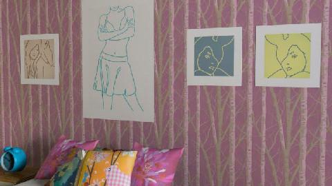 1. Retro Bedroom - Retro - Bedroom  - by idg2m9