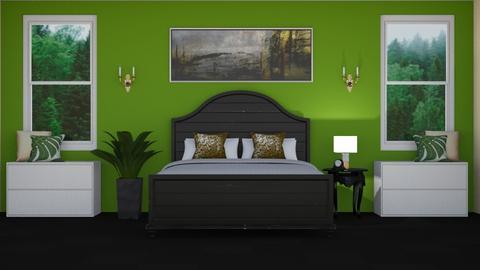 La Chambre Foret - Bedroom  - by LaylaaaarrrJF