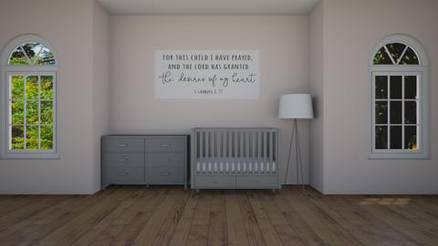 Lila Nursery  - Minimal - Kids room  - by artsy_naturelover