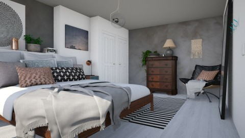 Bedroom redesign - Modern - Bedroom - by evahassing