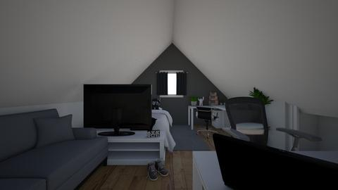gora domku - Bedroom  - by Ironek