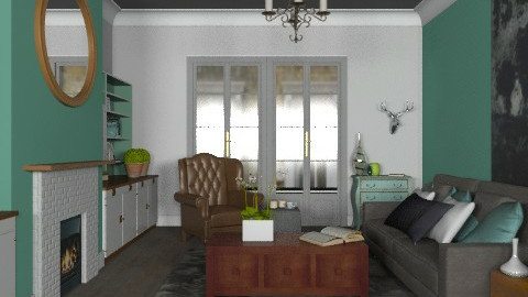 Kingston Living - Eclectic - Living room  - by Carliam