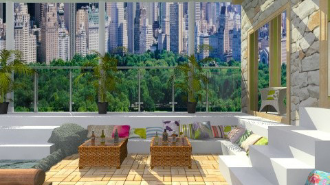 Rooftop garden in NY - Garden  - by Laurika