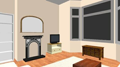 Living room April 2013 - Vintage - Living room  - by emiliabeth