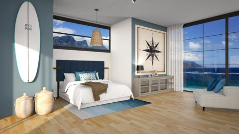 Contest_Beach_Minimal - Minimal - Bedroom  - by Gouri Renjith