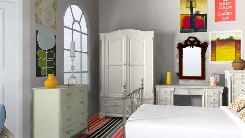 Vintage chic Rock - Classic - Bedroom  - by AnjieBaby