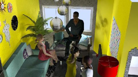 Retro Chic  - Retro - Living room  - by rtgstar9