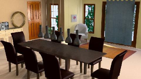 diner room - Dining Room  - by jetaxebabez