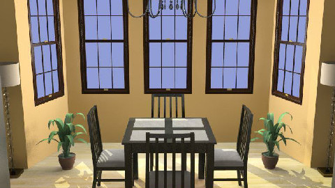 ...Squared Apricot... - Dining Room  - by Mysterious