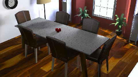 Dining Room One - Dining Room  - by i_like_pie_123