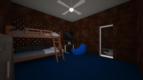 boys mancave - Bedroom  - by Maddie Reh