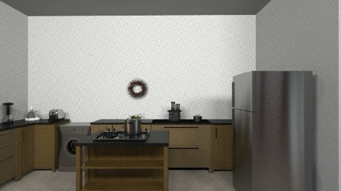 kitchen dinner - Minimal - Kitchen  - by saliha
