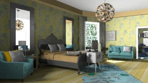 Sassy Boo 2 - Eclectic - Bedroom  - by mrschicken