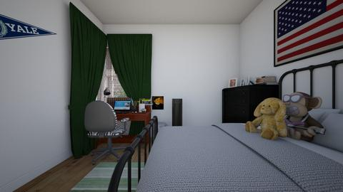 My Room - Bedroom  - by SammyJPili