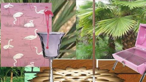 Flamingo - Garden - by emmachan