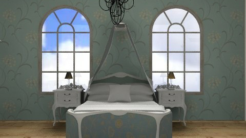 french style bedroom - Rustic - Bedroom  - by malou84
